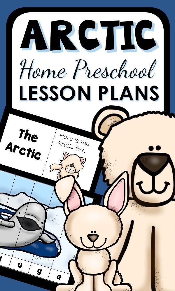 Arctic Theme Preschool Classroom Lesson Plans Winter Animals Theme