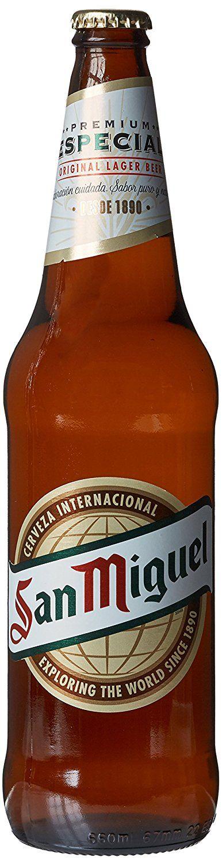 San Miguel Premium Cerveza Lager, 660ml