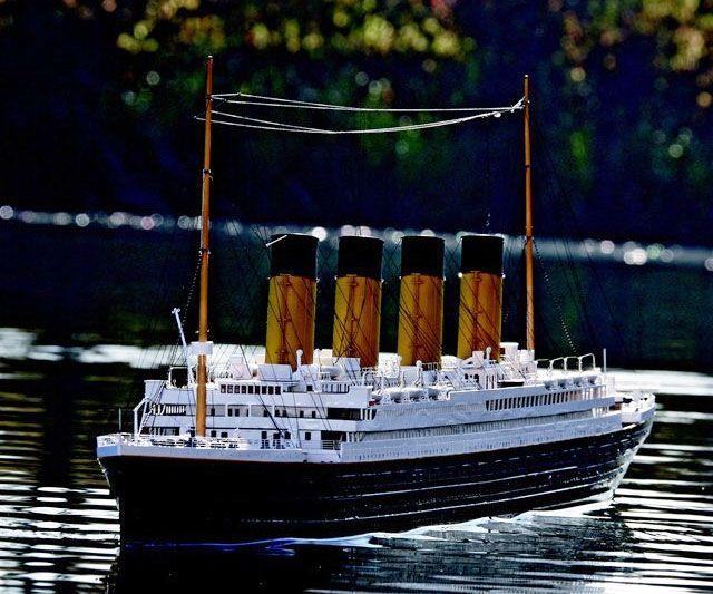 Titanic R/C Boat $2,500.00