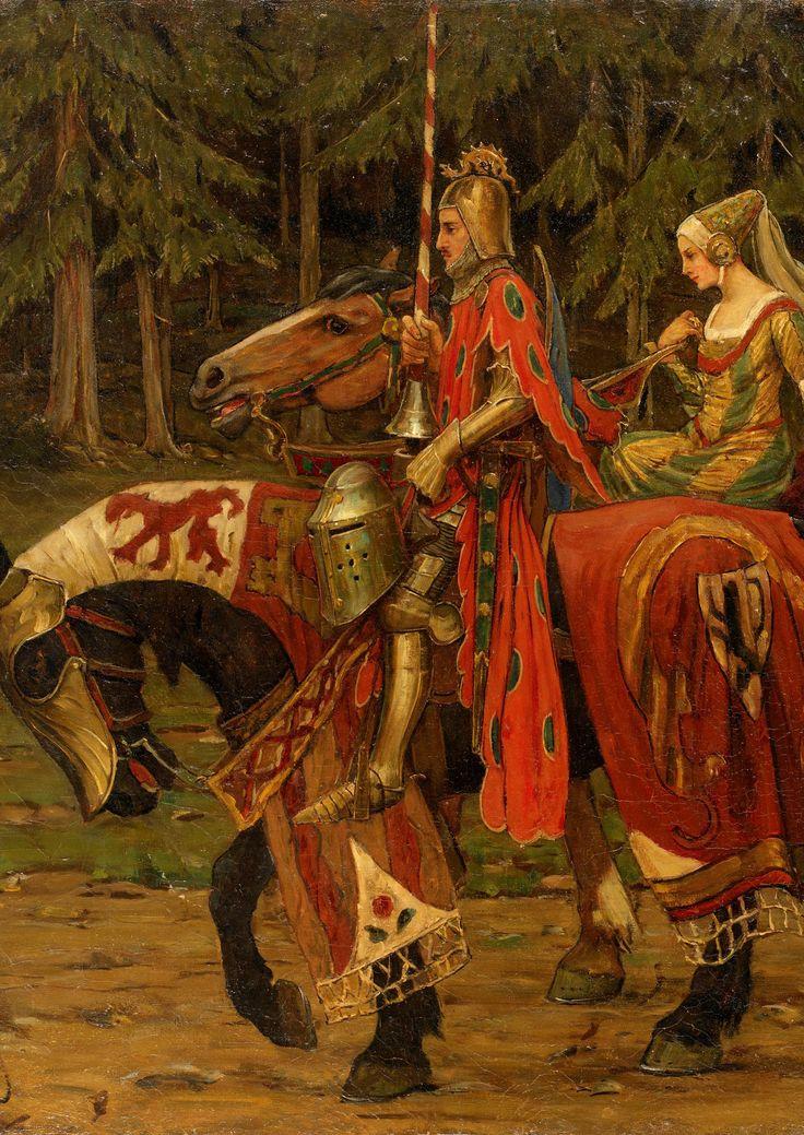 Heraldic Chivalry by Alphonse Mucha (1860 - 1939)