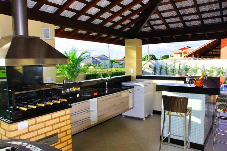 13 varandas gourmet assinadas por profissionais de CasaPRO - Casa