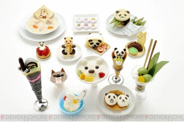 Shirokuma Cafe themed Japanese sweets