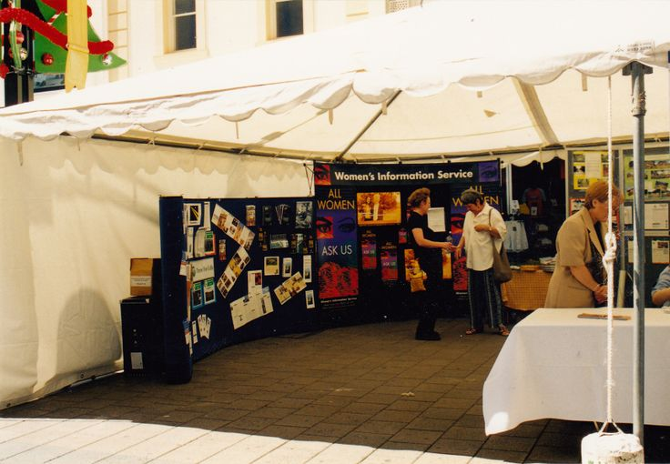 WIS Stall in Rundle Mall at the Launch of International Year of Volunteers