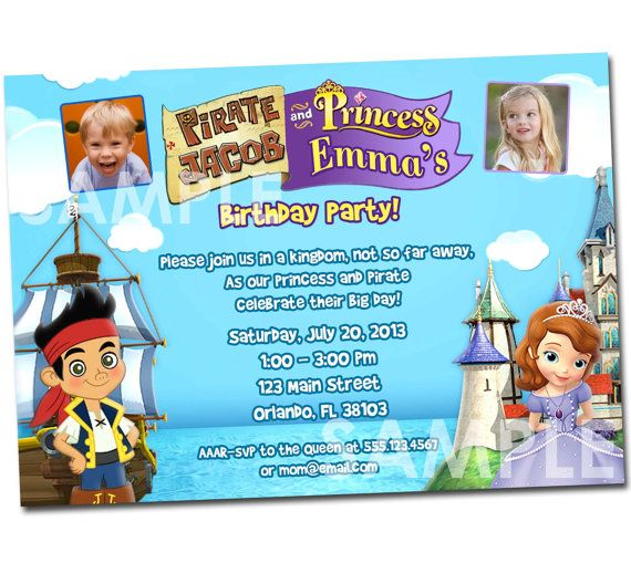 Dual Birthday Party Invitation Wording