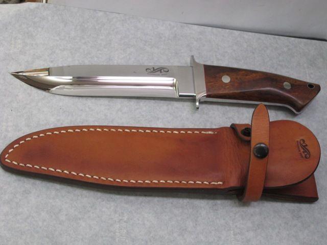 相田義人作カスタムナイフ7インチウィルダネス身幅35mm