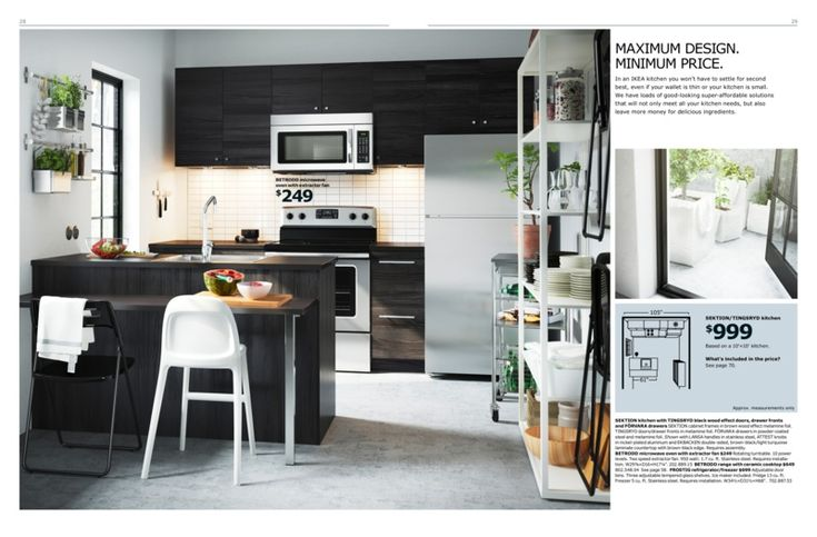 Ikea kitchen brochure 2016 sektion tingsryd 10x10 - Kitchen cabinets design catalog pdf ...