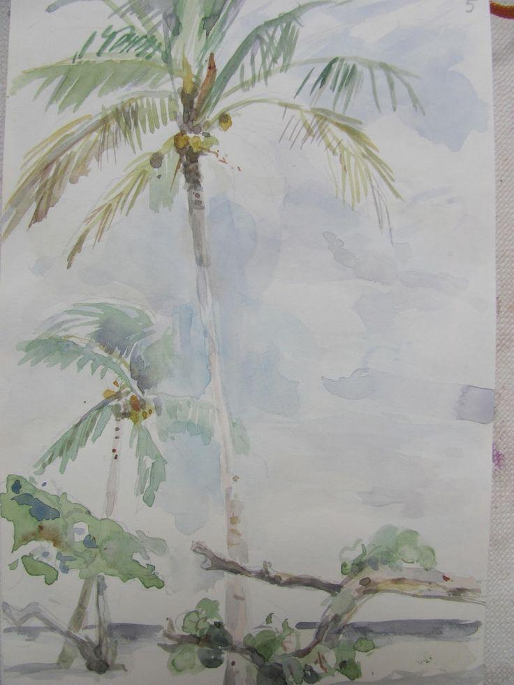 Sadko Hadzihasanovic. From Cubano Paradiso, 2013. Watercolour.