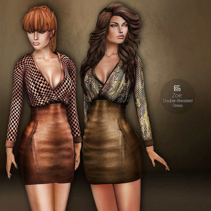 GizzA - Zoe Double-Breasted Dress | Flickr - Photo Sharing!