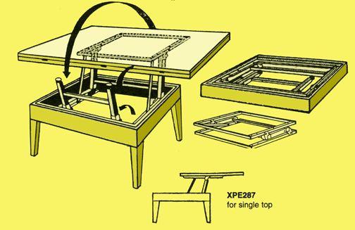 Diy Lift Top Coffee Table Mechanism Wooden Pdf Designs Shoe Racks In Wood Honey Do List Pinterest Plans And