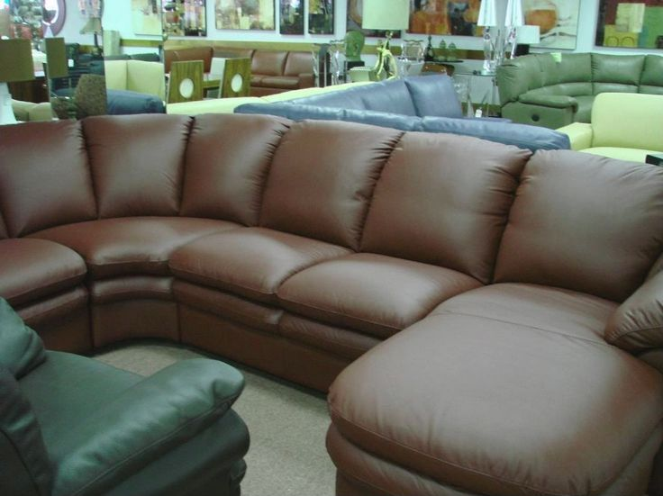 Furniture Sale Natuzzi Editions A845 chocolate brown Leather sofa - http://sectionalsofassale.net/