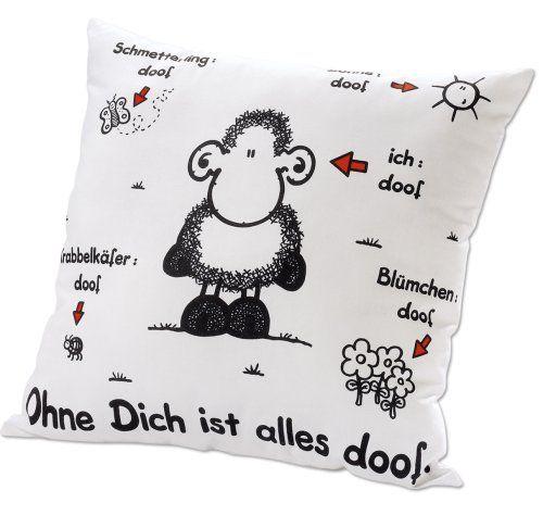 "Sheepworld 40157 Kissen ""Ohne Dich ist alles doof"" weiß S... https://www.amazon.de/dp/B000NHHQW0/ref=cm_sw_r_pi_dp_x_hh-qybD7PNWSW"