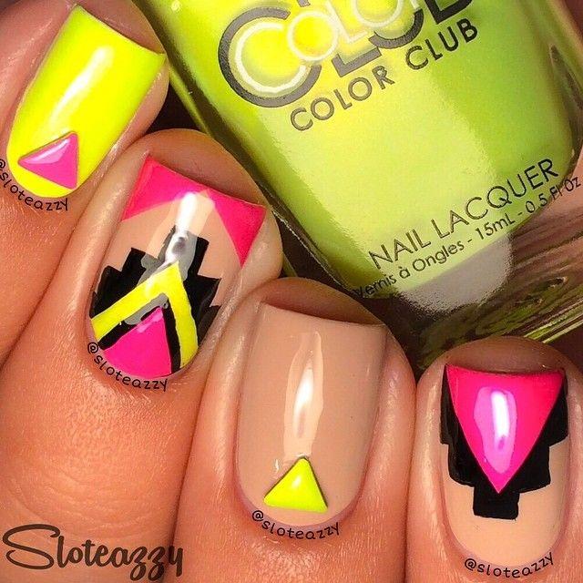 tus uñas con arte belleza y color