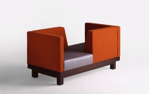 The J Loveseat by Colber