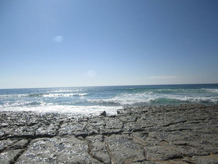 Blue Sea in Portugal
