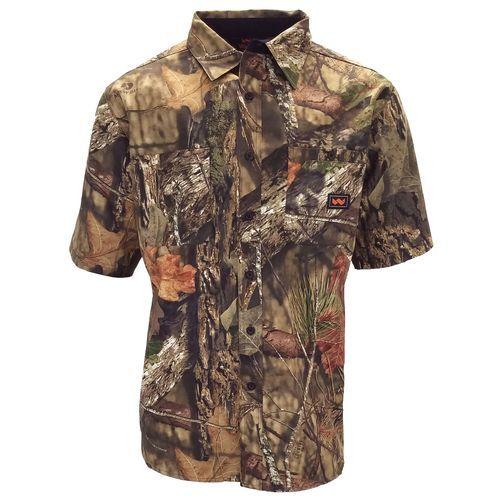 walls men s cape back camo short sleeve shirt camo on walls hunting coveralls id=94484