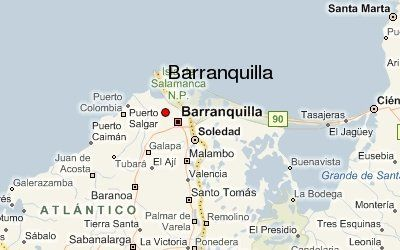 barranquilla colombia map - Google Search