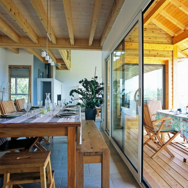 Maison bois savoie vente maison sciez extension bois - La poutre valloire ...