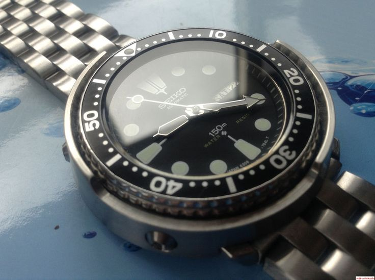 Vintage Seiko 6309 Auto DAY Date - Mod Shroud Tuna Scuba Divers Watch