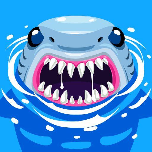 El tiburon megalodon es peligros para ustedes es mas grande que tiburon martillo y tigre