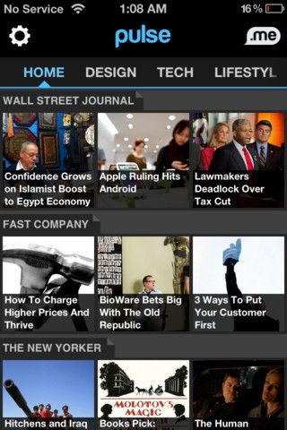 The 100 Best iPhone Apps - pulse. news aggregator