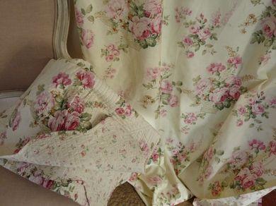 Les 25 meilleures id es de la cat gorie rideaux romantiques sur pinterest r - Rideau style anglais ...