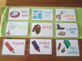 Open ideat: Lukemaan ja kirjoittamaan oppiminen.