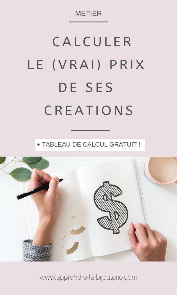 Calculer Les Prix De Vente De Ses Bijoux Vendre Ses Creations