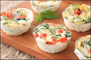 Hungry Girl's Roasted Veggie Egg Muffins