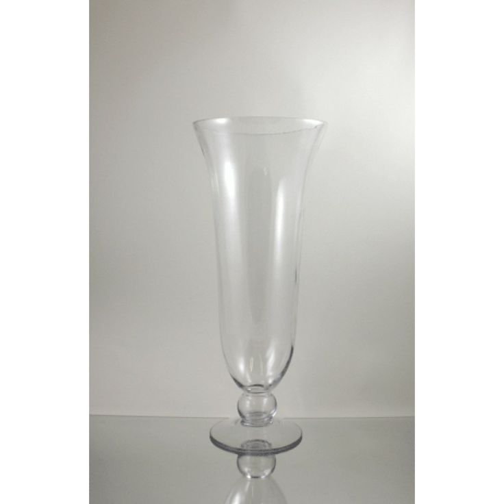 10 X 24 Flared Gl Hurricane Vase Bulk Case Of 2 30 50 Per