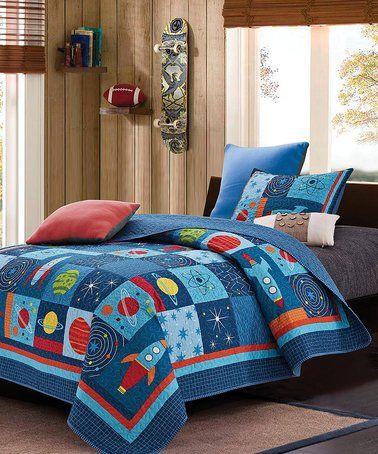 space quilt set zulilyfinds