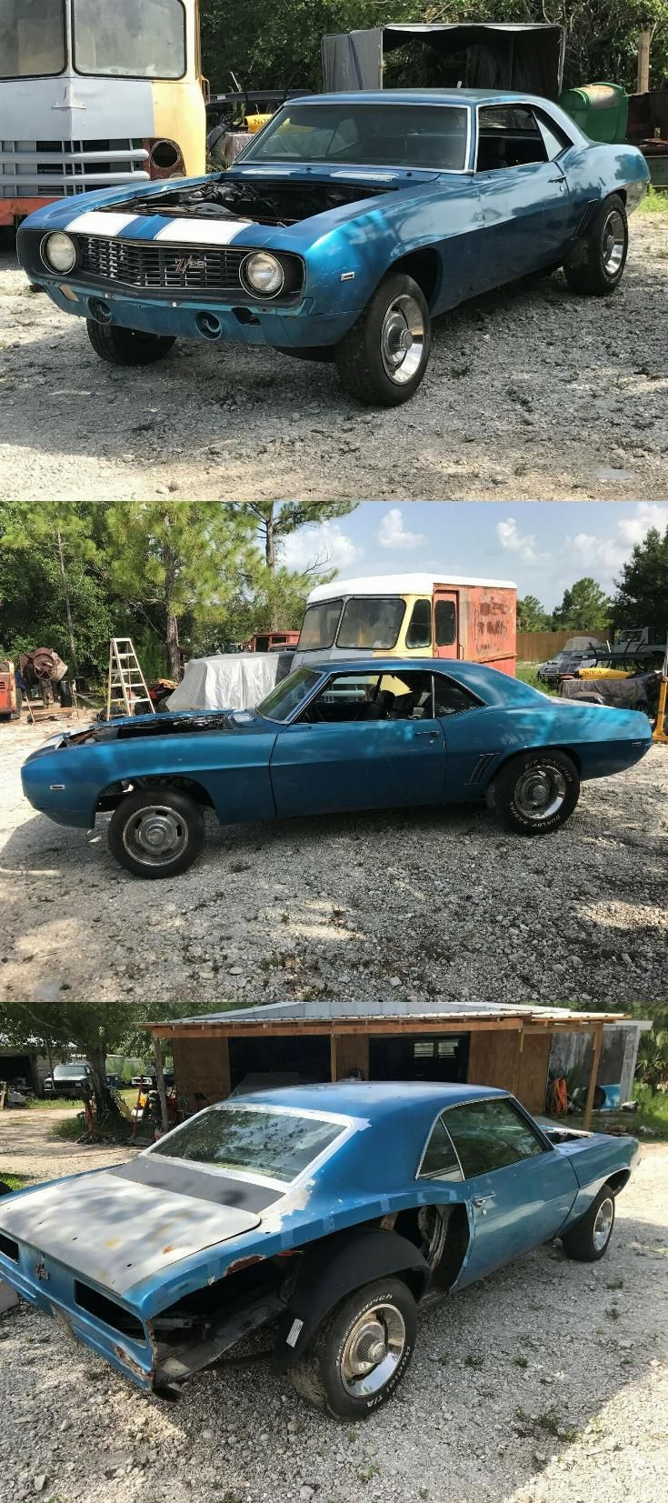 1969 Camaro Project Car For Sale : camaro, project, Project