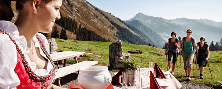 Bizau im Bregenzerwald: Kulinarisch Wandern #visitvorarlberg #myvorarlberg #hiking