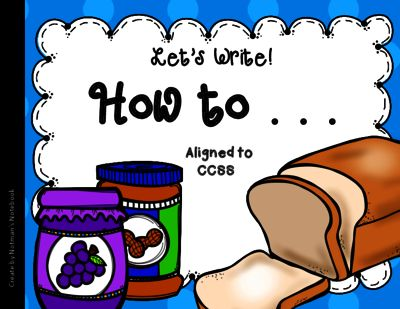 """How to Make a Peanut Butter and Jelly Sandwich from Notman's Notebook on TeachersNotebook.com -  (8 pages)  - Students will writing a """"How to Make a Peanut Butter and Jelly Sandwich"""" paper."""