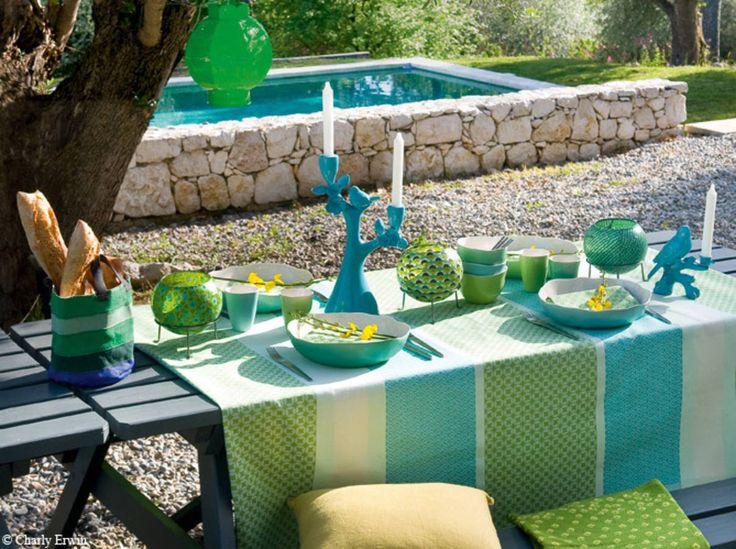 Déco de table : nos plus belles idées pour l'été - Elle Décoration   Deco table, Decoration et ...