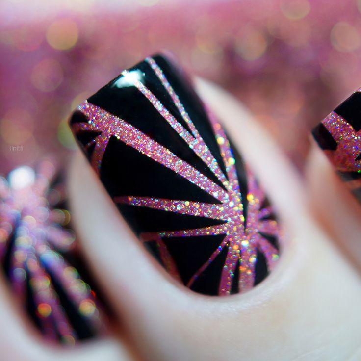 BORN PRETTY line stamping nails, more details shared by bornprettystore.com customer