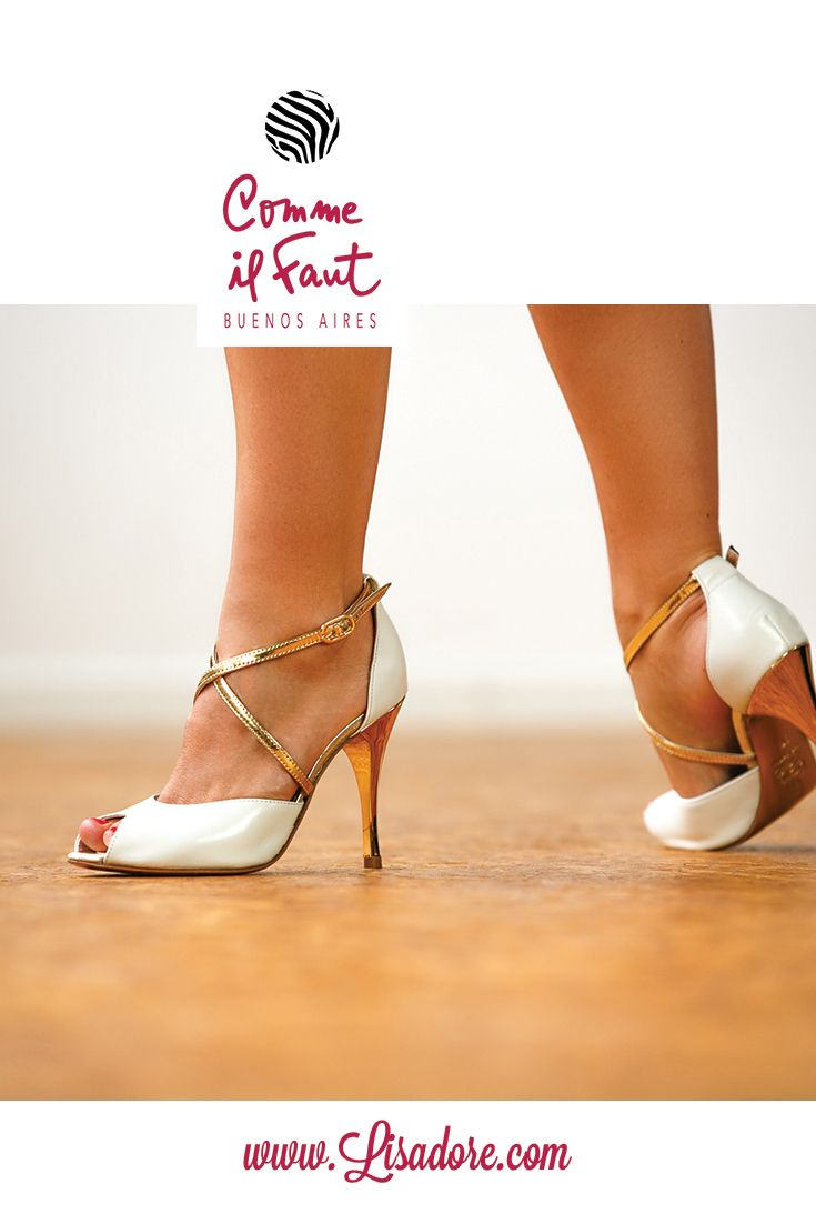 Comme il Faut Exclusive High Heel Dancing Shoes for Tango, Salsa and Bachata !