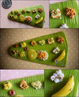 Onam Sadya - A meal from Kerala.