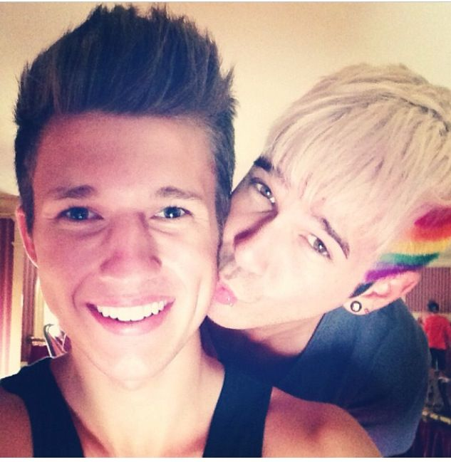 cutest gay couple on youtube - matthew lush and nick laws ❤️