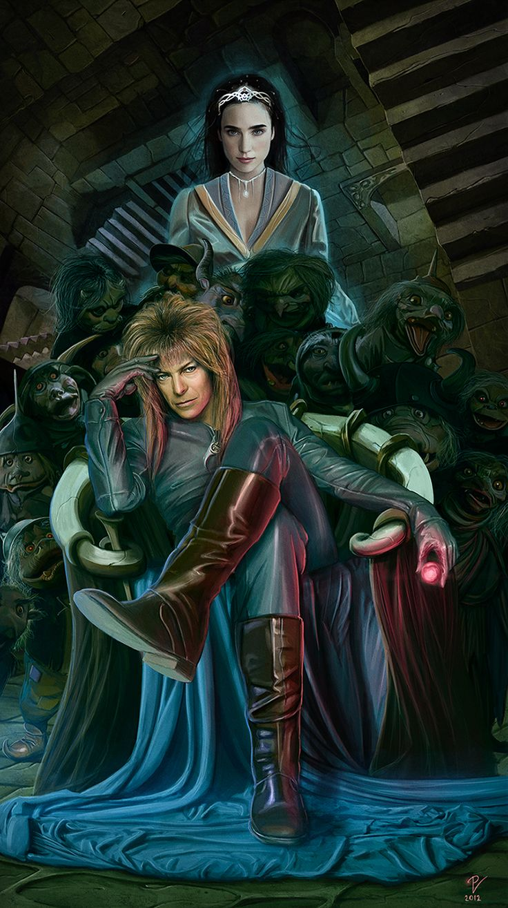 When I write my Return To Labyrinth game, this is the image I will use for the cover. Return To Labyrinth (The Goblin Queen) by ~VladislavPANtic on deviantART