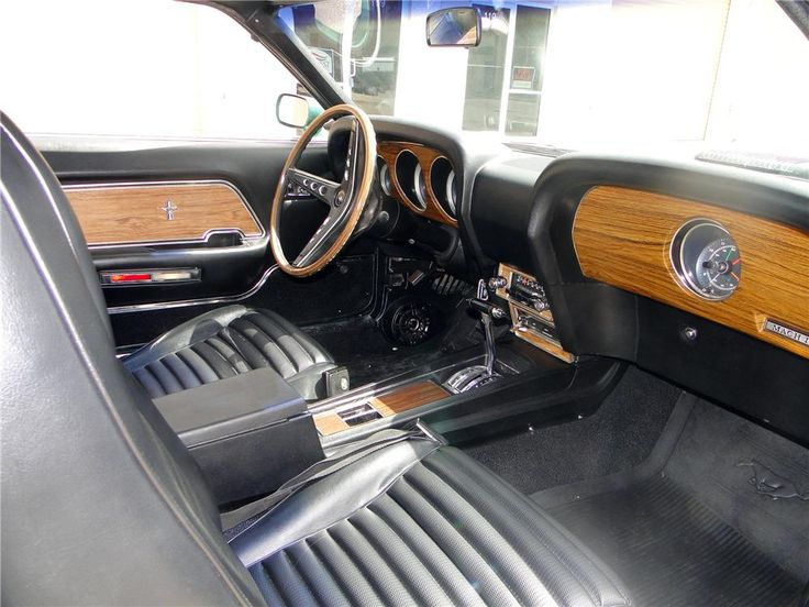 1969 ford mustang mach 1 428 scj the 69 70 had the best interior - 1969 Ford Mustang Fastback Interior
