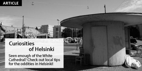 Curiosities of Helsinki - crowdsourced article on special spots in Helsinki, all tips directly from the locals!   Helsinki This Week