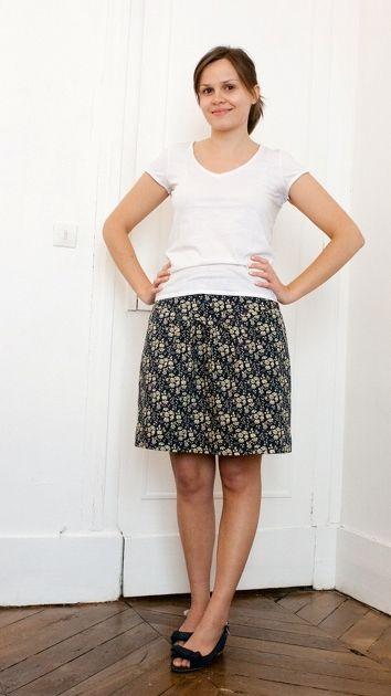 Crescent skirt par Calinette! - thread&needles