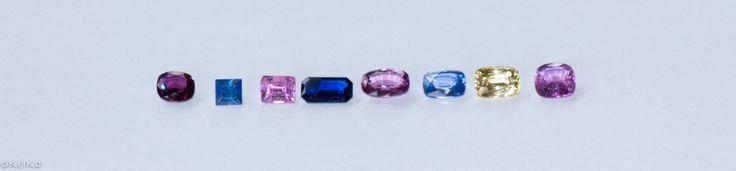 Square cut size chart #srisrisapphire #sapphire #gems #jewellery #srilanka #japan #australia