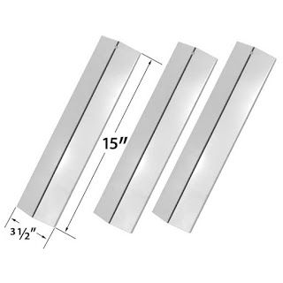 Grillpartszone- Grill Parts Store Canada - Get BBQ Parts,Grill Parts Canada: Amana Heat Shield | Replacement 3 Pack Stainless S...