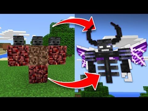 minecraft how to make wither storm boss