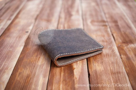 Wallets for men minimal wallet slim wallets billfold by DiGeordie