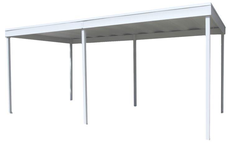Arrow Freestanding Steel Carport/Patio Cover, 10x20 ...