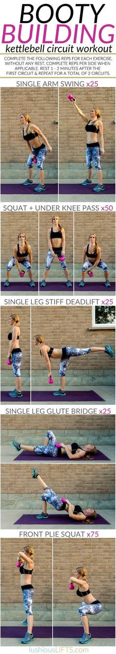 Kettlebell Booty Workout | Posted by: NewHowtoLoseBellyFat.com
