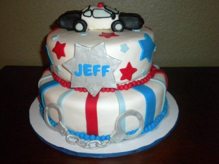 police cake | Police Officer Birthday Cake — Birthday Cakes