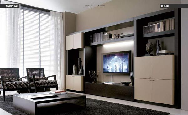 modern family room - Google Search